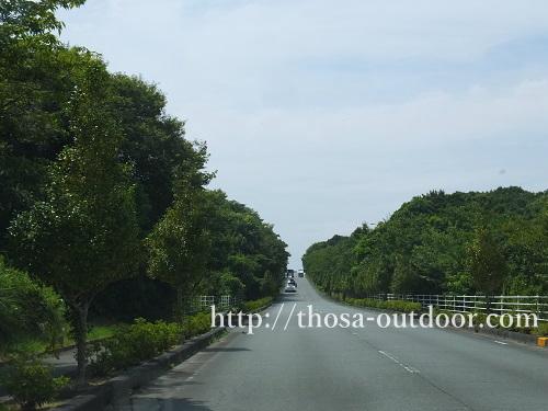 志摩オートキャンプ場への道
