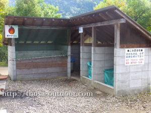 01ゴミ置き場-湯の原温泉AC