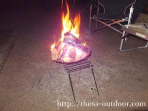 焚火-湯の原温泉AC