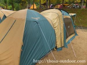 テント2湯の原温泉AC