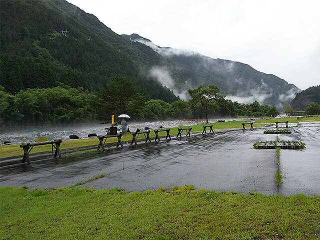 奥飛騨温泉郷オートキャンプ場 夏 キャンプ 2020